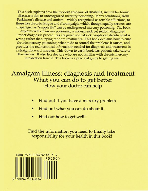 Amalgam Illness back cover